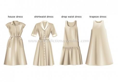 Các kiểu váy đầm liền cách điệu