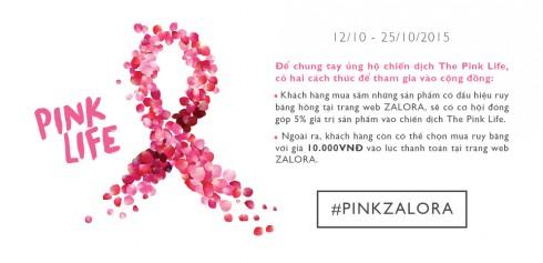 """ALORA phát động chiến dịch """"The Pink Life"""""""