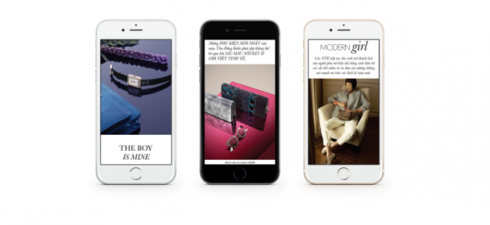 Thiết kế tự động tương thích màn hình cho bạn trải nghiệm đọc thoải mái trên các thiết bị khác nhau
