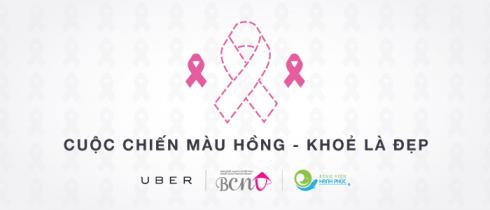 Người dùng Uber có thể khám ngực miễn phí tại các Bệnh Viện Quốc Tế Hạnh Phúc ở TP.HCM và Vinmec ở Hà Nội