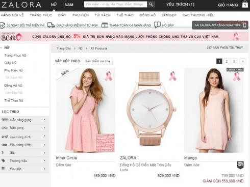 Website Zalora