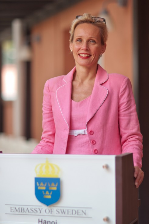 Đại sứ Thụy Điển Camilla Mellander