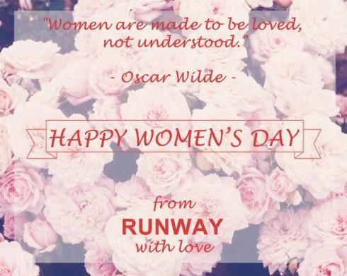 Để chào mừng ngày Phụ nữ Việt Nam 20/10, Runway sẽ tổ chức chương trình khuyến mãi đặc biệt trong 3 ngày duy nhất từ 19-21/10