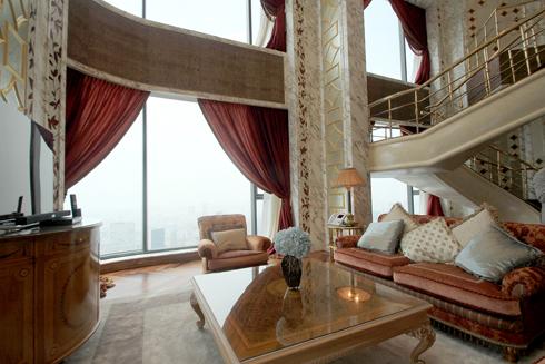 Một góc nhìn đẹp của phòng khách