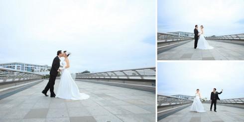 Khu vực cầu Ánh Sao với khung cảnh vắng, ánh sáng đẹp được khá nhiều cặp đôi lựa chọn 10 địa điểm chụp ảnh cưới siêu đẹp cho cô dâu chú rể