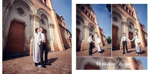 Chụp ảnh cưới tại nhà thờ Đức Bà là lựa chọn hoàn hảo cho các cặp đôi ưa thích kiến trúc phương Tây