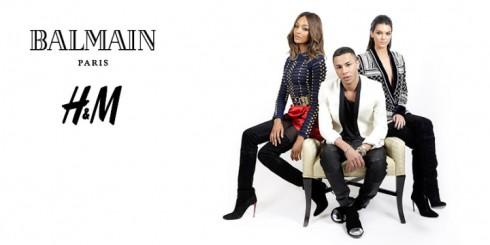 Kendall Jenner Balmain x H&M 3