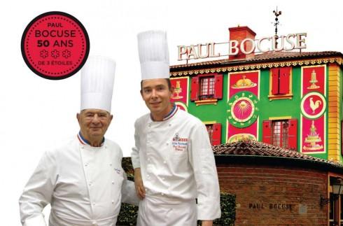 Bếp trưởng Gilles Reinhardt đến từ nhà hang 3 sao Michelin Paul Bocuse lên thực đơn và chế biến tại lễ hội ẩm thực.