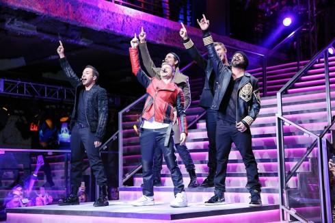 Nhóm Backstreet boys vang tiếng một thời.