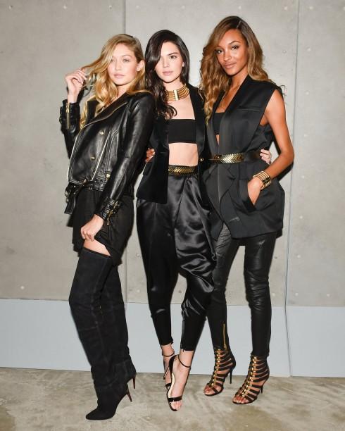 Gidi Hadid, Kendall Jenner và Jourdan Dunn.