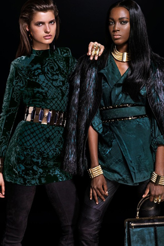 Bữa tiệc thời trang Balmain x H&M