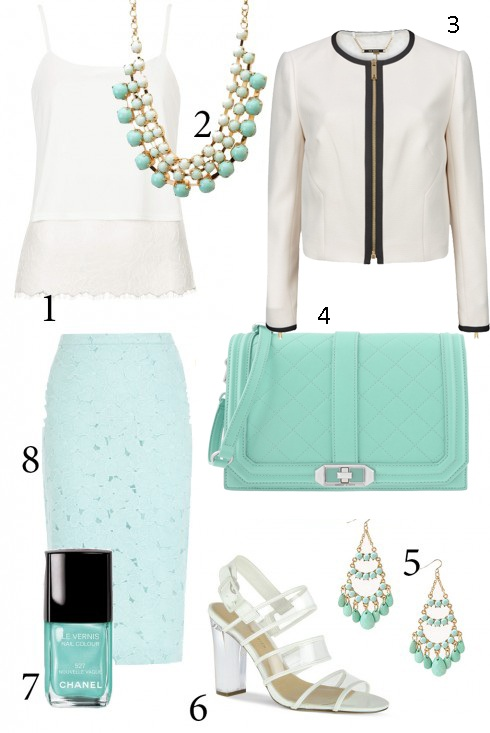 Thứ 3<br/>1.TOPSHOP 2.ACCESSORIZE 3.TORY BURCH  4. CHARLES & KEITH  5. F21 6. CHARLES & KEITH 7. CHANEL