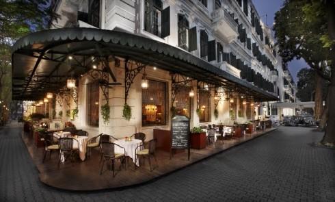 Sofitel Legend Metropole Hà Nội là khách sạn được bình chọn với số điểm cao nhất ở Việt nam
