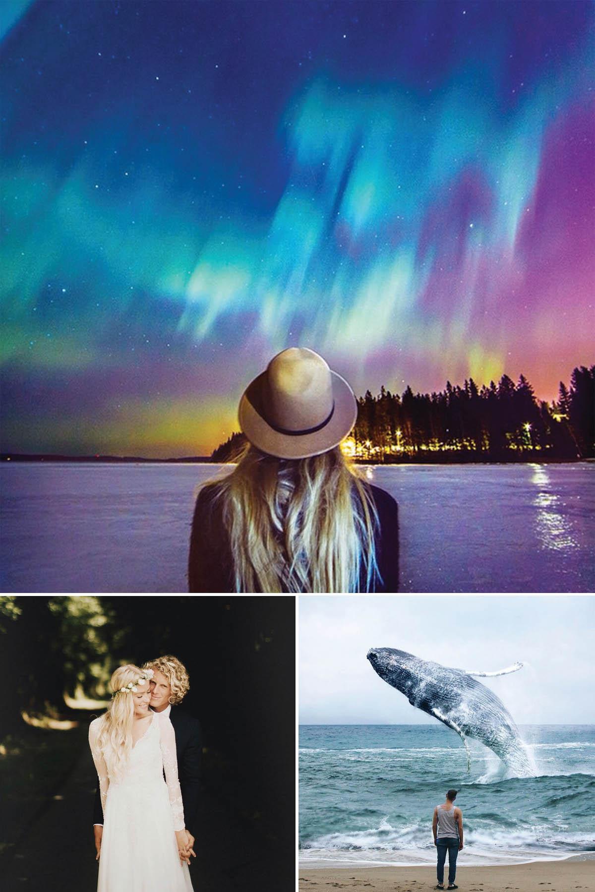 Đi du lịch qua tài khoản instagram của các cặp đôi