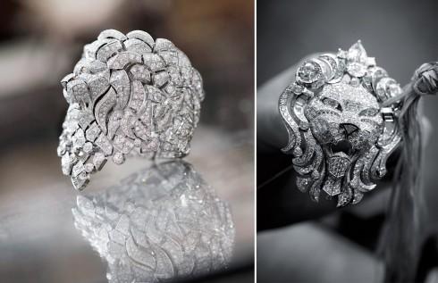 Hình tượng Sư Tử đặc trưng của dòng trang sức cao cấp Chanel