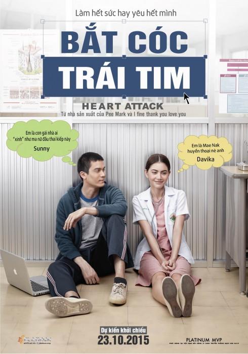 Phim Bắt cóc trái tim được khởi chiếu ngày 23/10 trên toàn quốc.