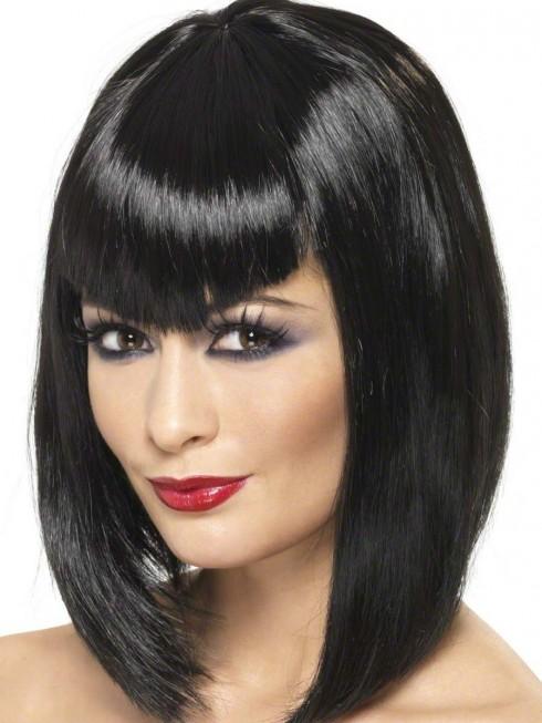 Màu đen tuyền của bộ tóc sẽ khiến người khác hoảng sợ đấy, vò rất ít người trên thế giới có màu tóc này, mà lại còn bóng nhẫy nữa hình.