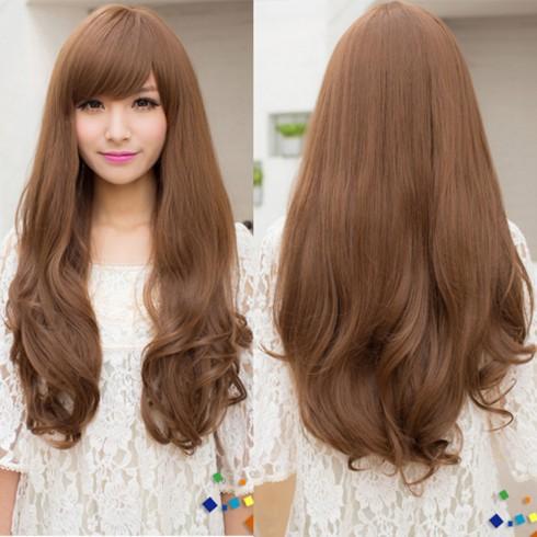 Hãy chọn những bộ tóc giả có độ xoăn vừa phải để trông thật tự nhiên