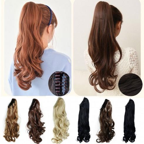 Màu sắc của tóc giả phải tương đồng với tóc thật khi bạn lựa chọn tóc giả kẹp