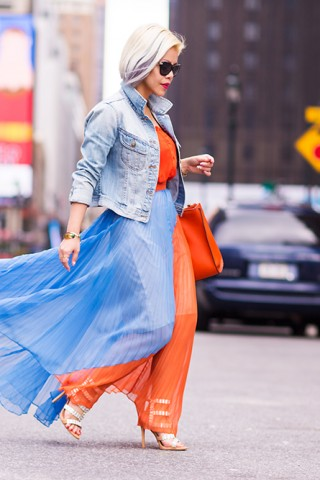 Crystal Phuong tại New York Fashion Week