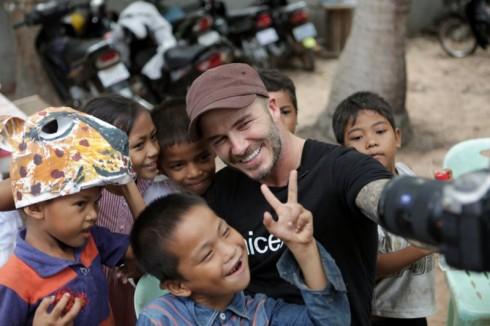 David là một thành viên tích cực của Quỹ Nhi Đồng UNICEF.