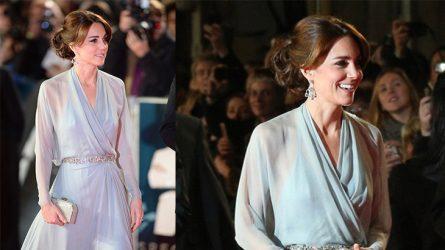 Công nương Kate Middleton kiều diễm tại lễ ra mắt phim James Bond