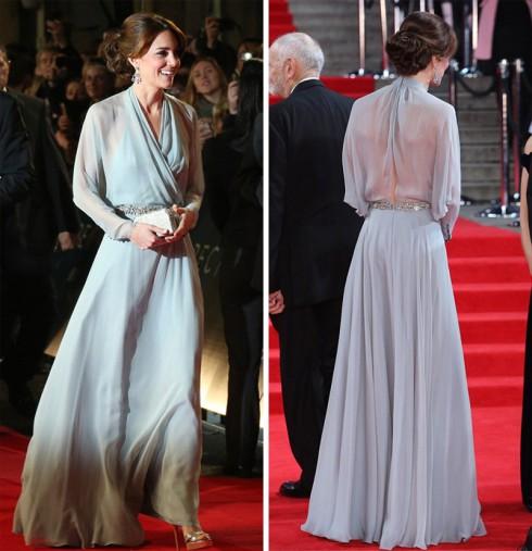 công nương Kate Middleton lộng lẫy trại lễ ra mắt phim James Bond 13 - elle vietnam