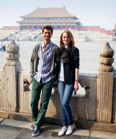 Emma Stone và Andrew Garfield vẫn coi nhau như bạn tốt