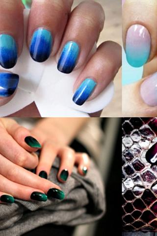 Sơn móng tay đẹp với hiệu ứng Dip Dye