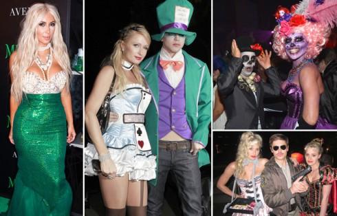 Các sao quốc tế mừng lễ hội Halloween