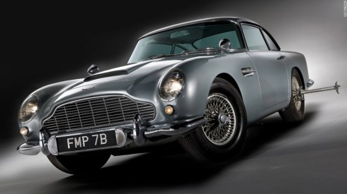 Aston Martin DB5 trong Goldfinger 1964.