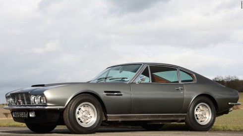 Aston Martin DBS trong On Her Majesty's Secret Service (1969).