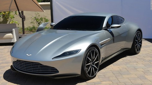 Aston Martin DB10 trong Spectre (2015).
