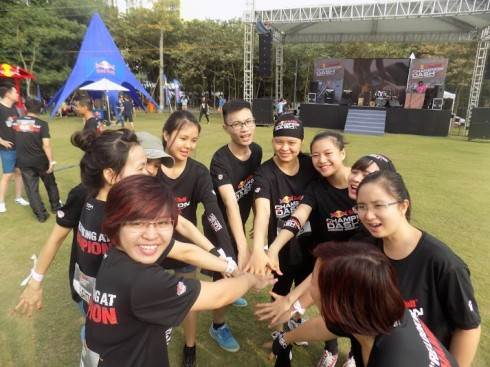 Sự kiện thu hút hơn 3000 người tại Hà Nội tham dự.