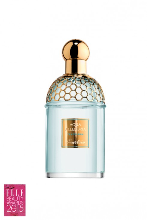 <strong>3. GUERLAIN TEAZZURRA</strong><br/>Teazzurra thể hiện sự tươi mát và thanh bình của thiên nhiên, là sự kết hợp của trà xanh và hoa nhài, được sưởi ấm bởi hương cam bergammot ở vùng đất Calabrian đầy nắng. Sự tinh khiết như pha lê của mặt hồ màu xanh da trời, là cách hoàn hảo để tái tạo năng lượng cho ngày mới.