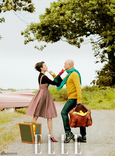 Là một đôi vợ chồng hài hước nhưng rất mực yêu thương nhau