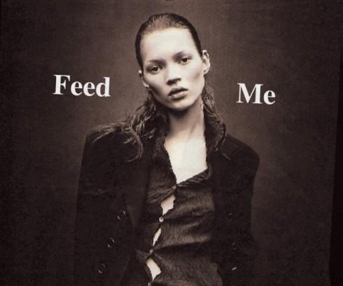 Bức ảnh gây tranh cãi của Kate Moss.