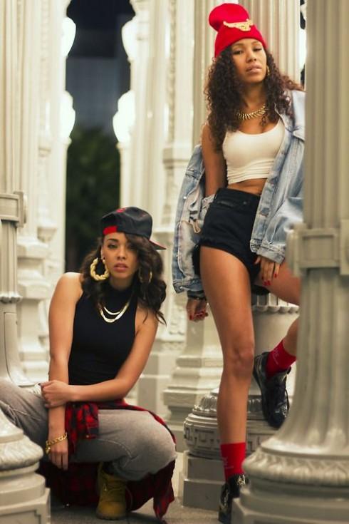Phong cách Hip Hop vào cuối thập niên 90.