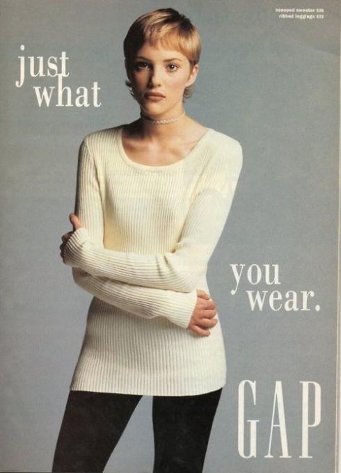 Campaign quảng cáo của GAP trong giai đoạn những năm 90.