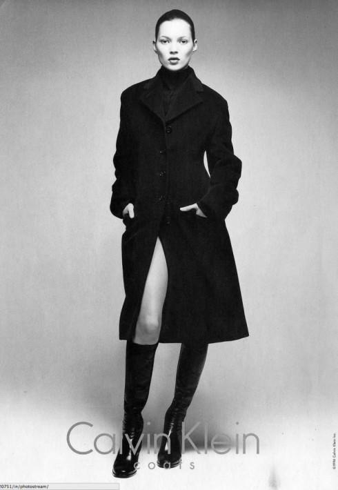 Kate Moss và Calvin Klein.