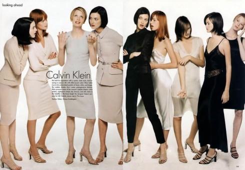Nhà thiết kế Calvin Klein đã thừa nhận chủ nghĩa Tối giản đối với ông là niềm đam mê về những đường cắt, là trò chơi màu sắc và phong dáng đơn giản, mạnh mẽ.