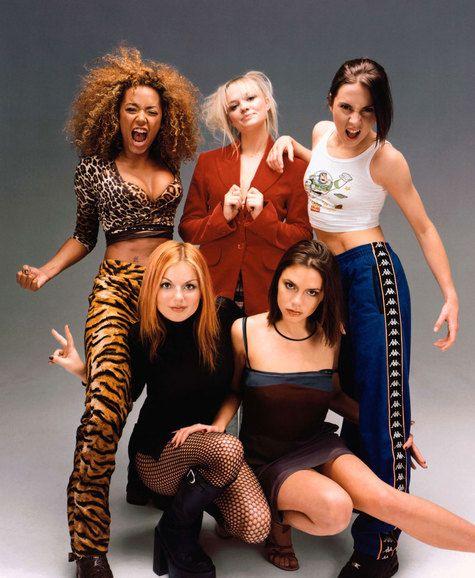 Nhóm Britpop Spice Girl