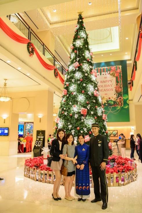 Lễ thắp sáng cây thông Noel hứa hẹn mang đến nhiều điều thú vị.