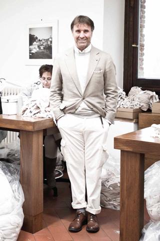 Brunello Cucinelli - Ông hoàng của thế giới cashmere