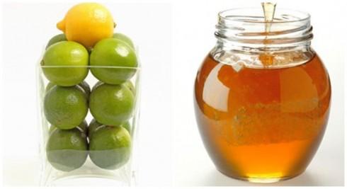 Nguyên liệu:Mật ong nguyên chất, chanh tươi và nướcấm