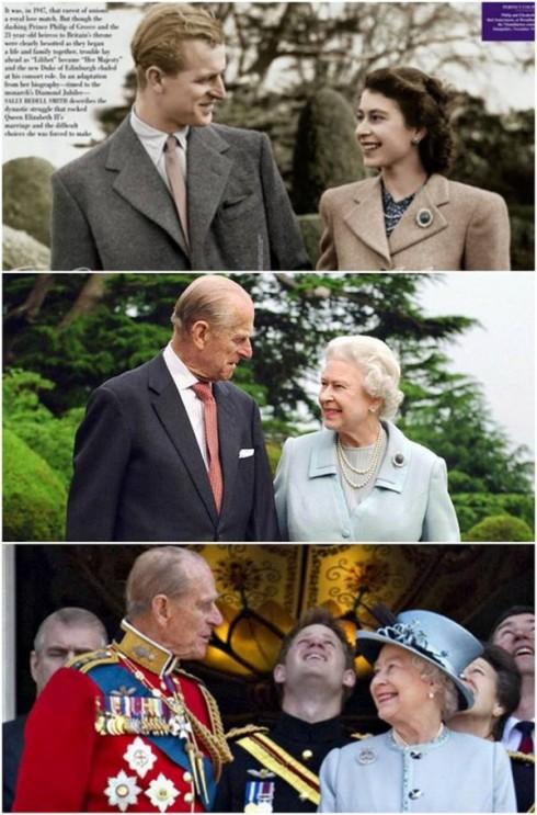 Chuyện tình đáng ngưỡng mộ của Nữ hoàng Elizabeth và Hoàng thân Philip