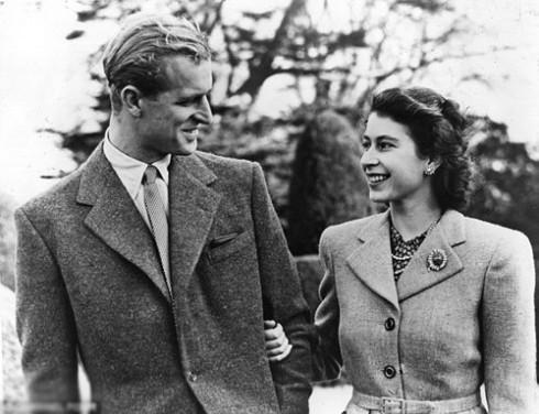 Nữ hoàng Elizabeth II và chồng