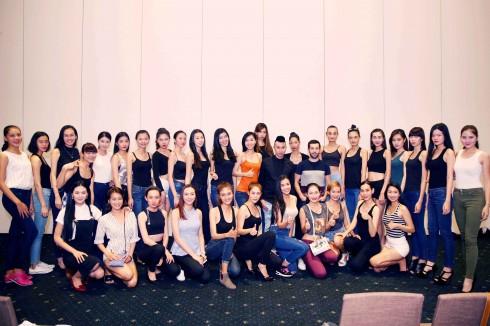 Dàn người mẫu tham dữ show diễn Lynk Fashion Show 2015