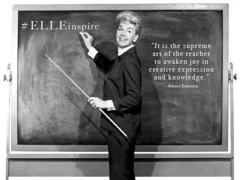 Người thầy, người cô cũng giống như một điểm tựa của học sinh.