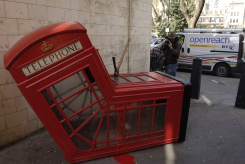 Tác phẩm của Banksy ở London